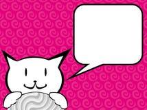 Het spreken pussycat. Stock Fotografie
