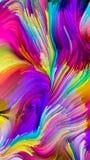 Het spreken van Vloeibare Kleur Stock Afbeeldingen