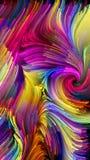 Het spreken van Vloeibare Kleur Royalty-vrije Stock Afbeelding