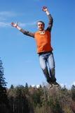 Het springen Royalty-vrije Stock Foto