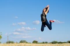 Het springen Stock Fotografie
