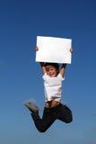 het springen   Stock Foto's