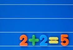 Het springen aan de verkeerde conclusie vector illustratie
