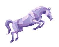 Het springen paard Royalty-vrije Stock Fotografie