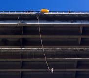 Het springen van Bungee Stock Foto