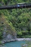 Het Springen van Bungee stock fotografie