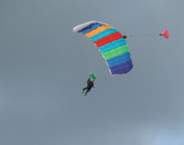 Het springen van de hemel Stock Foto's