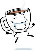 Het Springen van de Kop van de koffie Royalty-vrije Stock Afbeelding