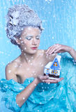 Het Sprookje van de winter Royalty-vrije Stock Foto's