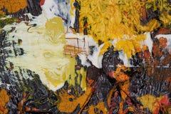 Het Sprookjesland van de kleur: Plons van Wit Royalty-vrije Stock Foto's