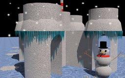 Het sprookjesland van de winter Stock Fotografie