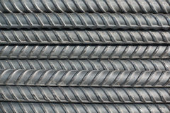 Het staal misvormt bars Stock Fotografie