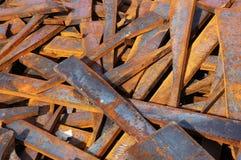 Het staal van het schroot Royalty-vrije Stock Foto's