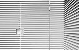 Het staal van Louvered vormt industrieel art. Royalty-vrije Stock Afbeeldingen