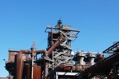 Het staal werkt van verrichting uit Royalty-vrije Stock Afbeeldingen