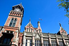 Het Stadhuis, Burton op Trent royalty-vrije stock afbeelding