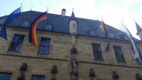 Het stadhuis in Osnabrueck royalty-vrije stock fotografie
