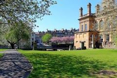 Het stadhuis Renfrewshire Schotland van Paisley Stock Foto