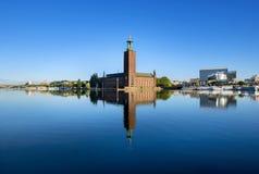 Het stadhuis, Stockholm Royalty-vrije Stock Fotografie