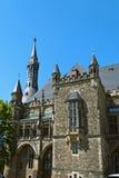 Het Stadhuis van Aken Stock Foto