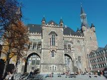 Het Stadhuis van Aken Royalty-vrije Stock Foto