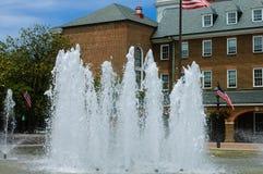 Het stadhuis van Alexandrië in Virginia Stock Foto's