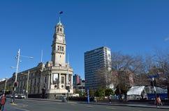 Het Stadhuis van Auckland - Nieuw Zeeland Stock Foto