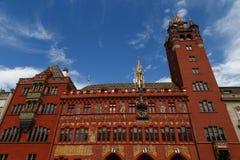 Het Stadhuis van Bazel stock foto's