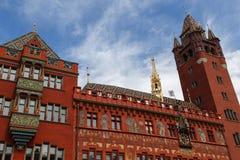 Het Stadhuis van Bazel royalty-vrije stock afbeeldingen