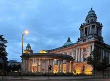 Het Stadhuis van Belfast Stock Foto's