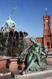 Het stadhuis van Berlijn Stock Afbeelding