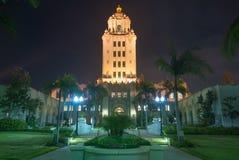 Het Stadhuis van Beverly Hills Stock Afbeeldingen
