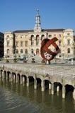 Het stadhuis van Bilbao Royalty-vrije Stock Afbeelding