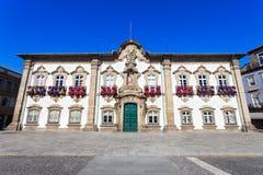 Het Stadhuis van Braga royalty-vrije stock afbeelding