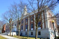 Het Stadhuis van Burlington, Burlington, Vermont Stock Foto's
