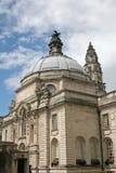 Het stadhuis van Cardiff royalty-vrije stock afbeelding