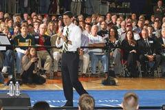 Het Stadhuis van de overwinning Met Paul Ryan en het Team GOP stock foto's