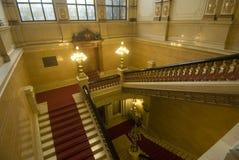 Het stadhuis van Hamburg, Duitsland Royalty-vrije Stock Foto