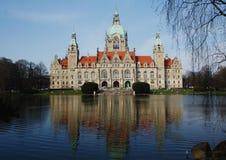 Het Stadhuis van Hanover Stock Afbeeldingen