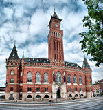 Het Stadhuis van Helsingborg Stock Foto's