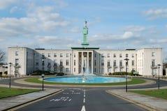 Het Stadhuis van het art deco Stock Foto