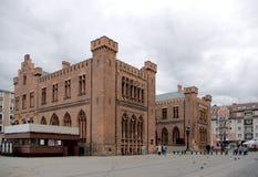 Het stadhuis van Kolobrzeg. Royalty-vrije Stock Afbeeldingen