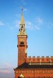 Het stadhuis van Kopenhagen Stock Foto