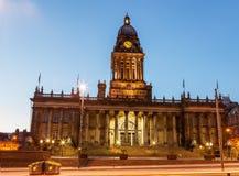 het stadhuis van Leeds royalty-vrije stock afbeeldingen