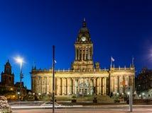 Het Stadhuis van Leeds stock afbeeldingen