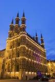 Het Stadhuis van Leuven in België royalty-vrije stock foto
