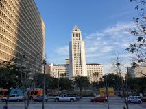 Het Stadhuis van Los Angeles, de V.S. stock afbeelding