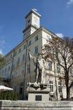 Het stadhuis van Lviv Stock Afbeeldingen