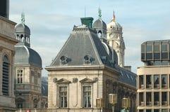 Het Stadhuis van Lyon stock fotografie