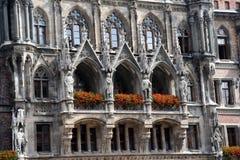 Het stadhuis van München Stock Fotografie